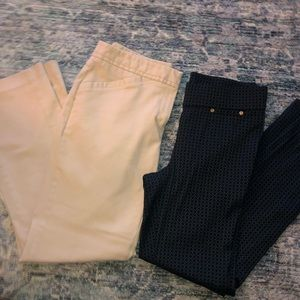 Lot of 2 women's work pants